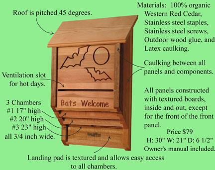 baldwin lawn furniture bat houses